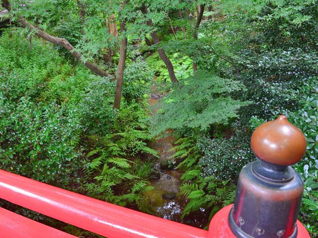 もともと「竹裏渓」と呼ばれていたそうです。