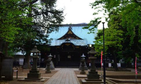 雑司ヶ谷鬼子母神道拝殿