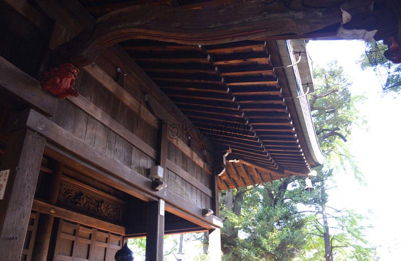 雑司ヶ谷鬼子母神道拝殿 装飾