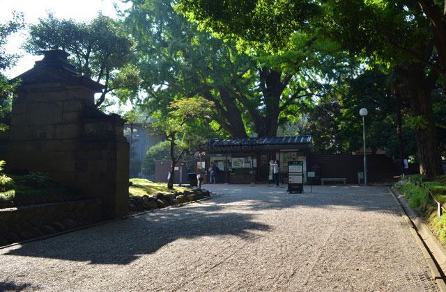 旧岩崎邸庭園、入場券売り場