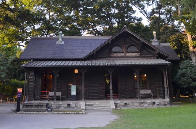 旧岩崎邸庭園・撞球館