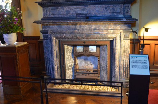 旧岩崎邸洋館の暖炉
