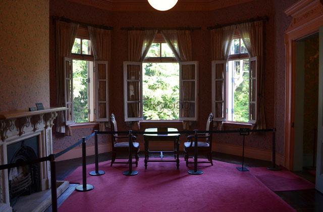 旧岩崎邸洋館の婦人客室