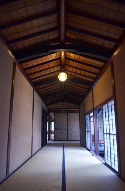 旧岩崎邸、洋館と和漢を繋ぐ通路