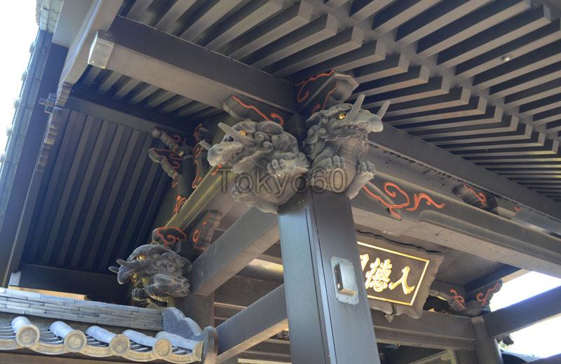湯島聖堂の入徳門の装飾