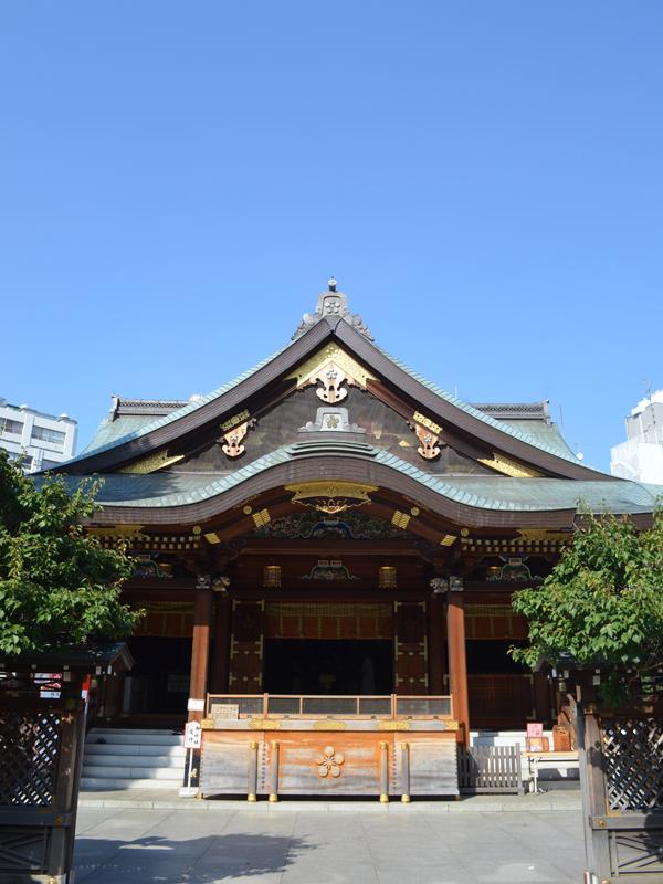 湯島天満宮新社殿