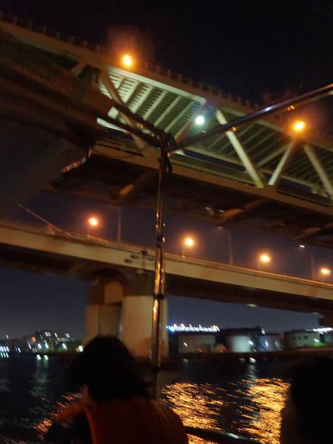 川崎工場夜景クルーズ首都高速