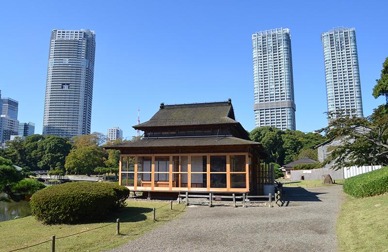 浜離宮恩賜公園、松の御茶屋