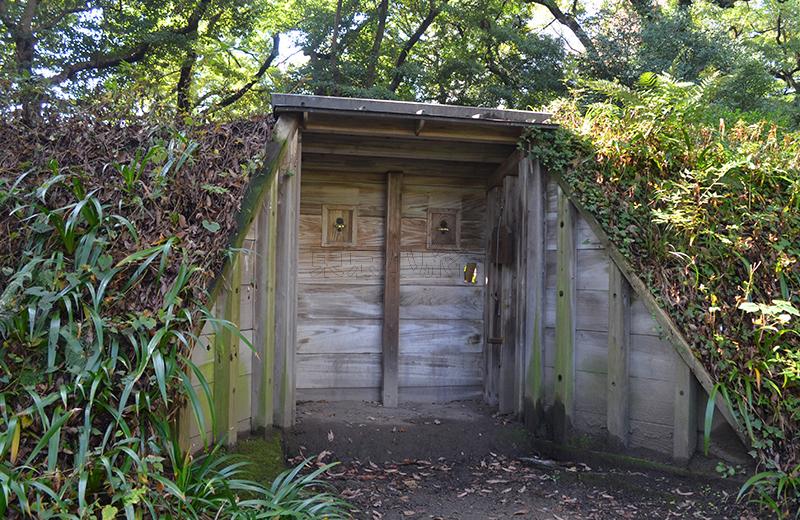 浜離宮恩賜公園、鴨場の小覗き
