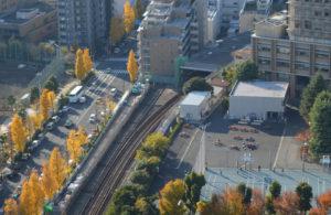丸ノ内線後楽園駅からトンネル