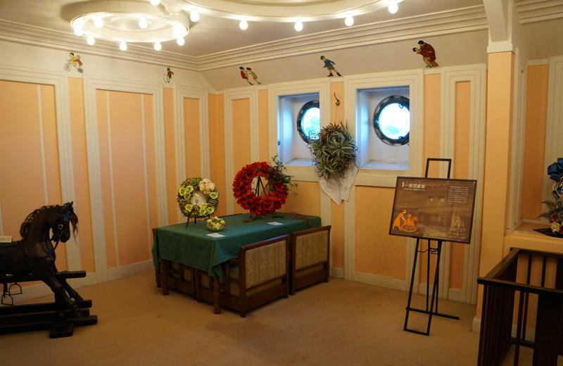 横浜山下公園氷川丸の一等児童室