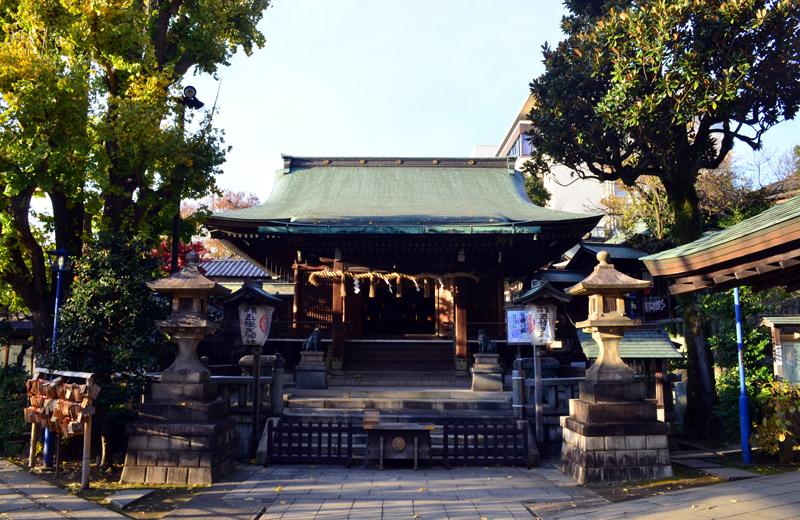 上野公園の花園稲荷神社