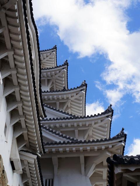 少しずつ近づく、姫路城