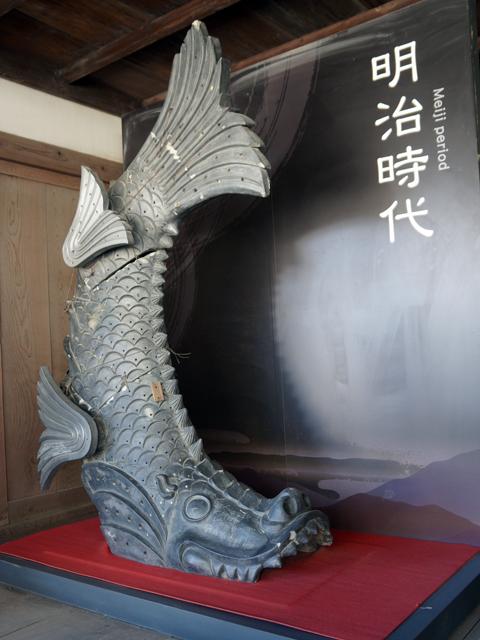 姫路城。明治の鯱