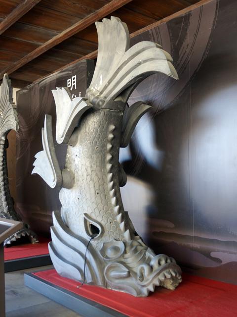 姫路城。6代目、昭和の鯱