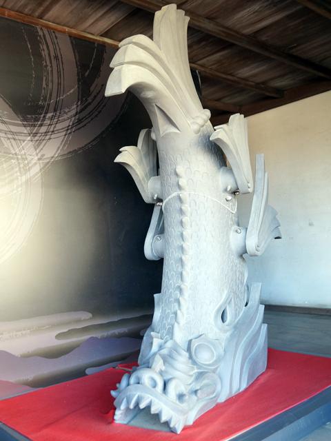 姫路城。7代目、平和の鯱
