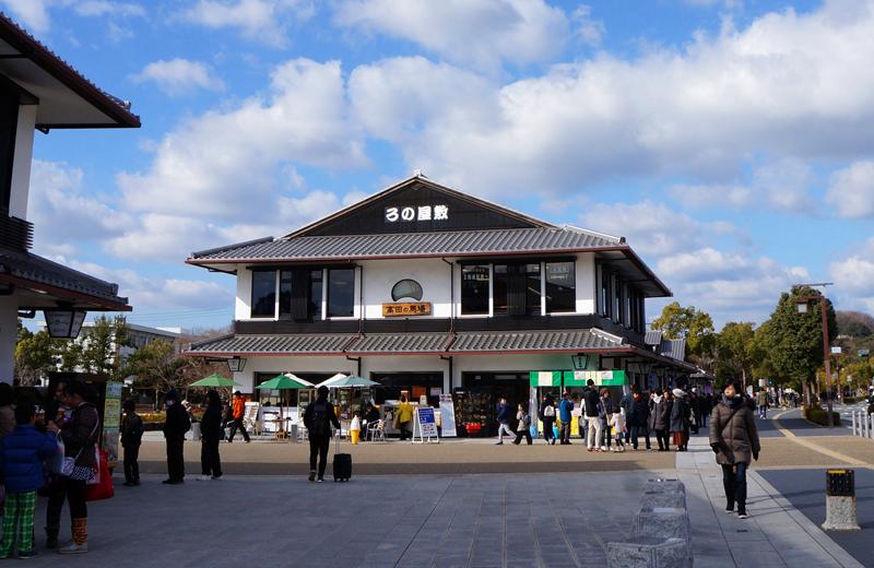 姫路城。レストラン・土産「高田馬場」