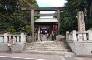 東京大神宮(飯田橋)鳥居