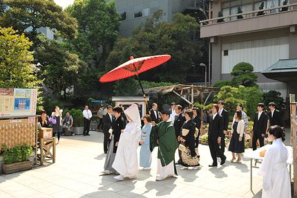 東京大神宮神前結婚式