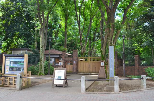 六義園の染井門