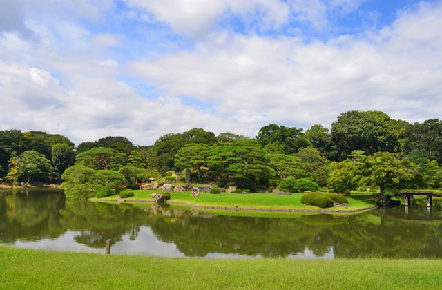 東京都立公園「六義園」(東京都文京区)