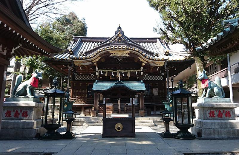 豊川稲荷東京別院・本殿
