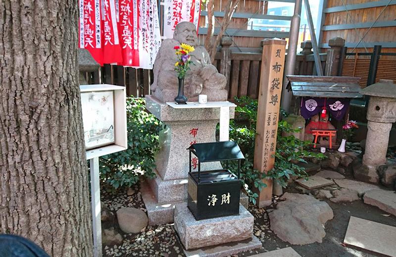 豊川稲荷東京別院・布袋尊