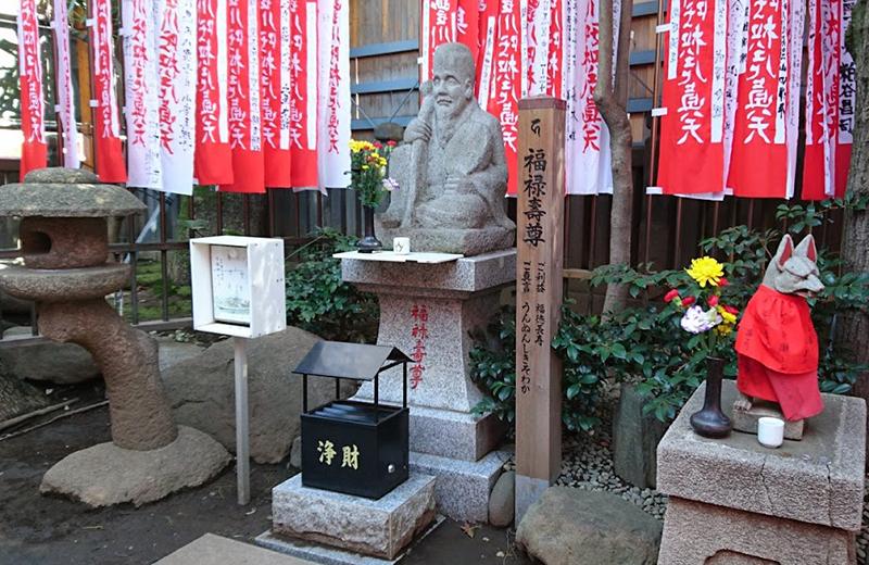 豊川稲荷東京別院・福禄寿尊