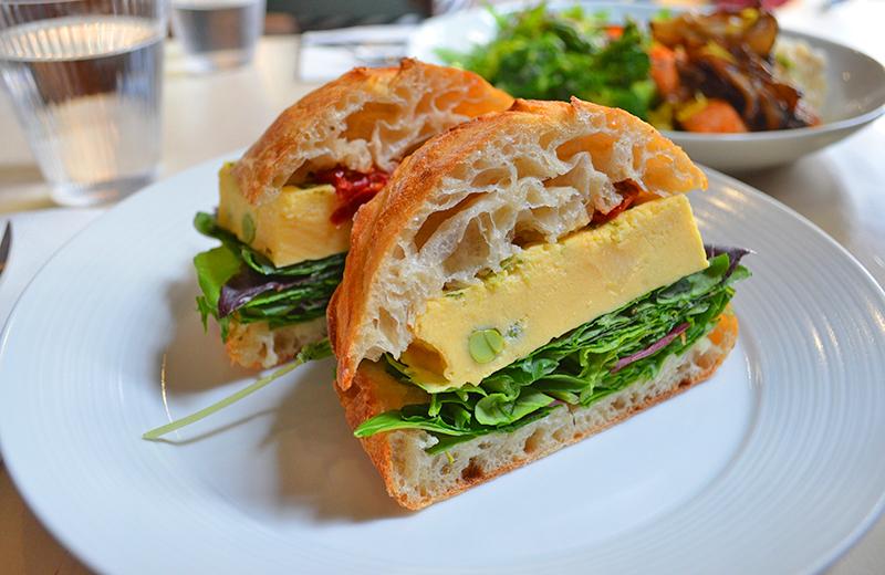 ▲CIBI 東京店(谷中)▲ベジタブルサンドイッチ