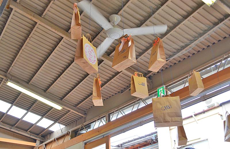 ▲CIBI 東京店(谷中)▲天井が高くて開放的!