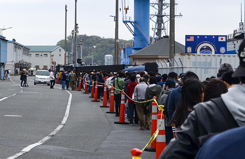 米軍横須賀基地の一般公開に行ってきました/スプリングフェスタ