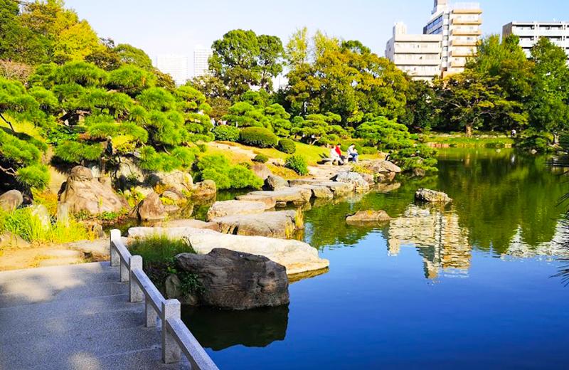 回遊式林泉庭園/清澄白河庭園