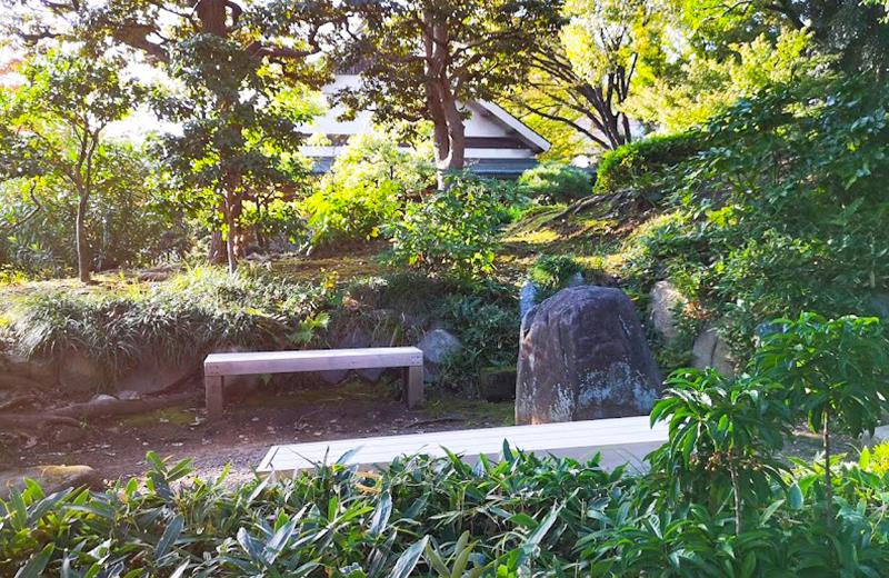 ベンチ/清澄白河庭園
