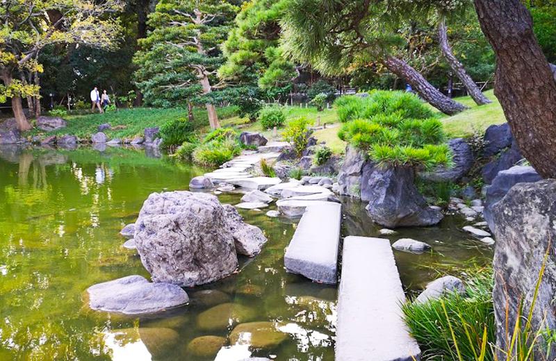 石橋/清澄白河庭園