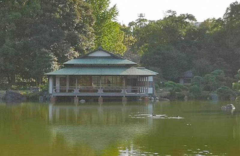 涼亭/清澄白河庭園