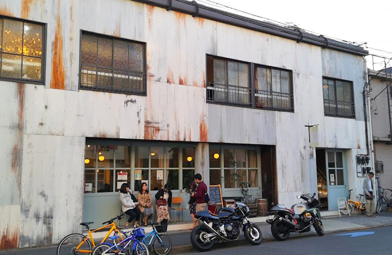 fukadasou kafe(フカダソウ・カフェ)/清澄白河庭園