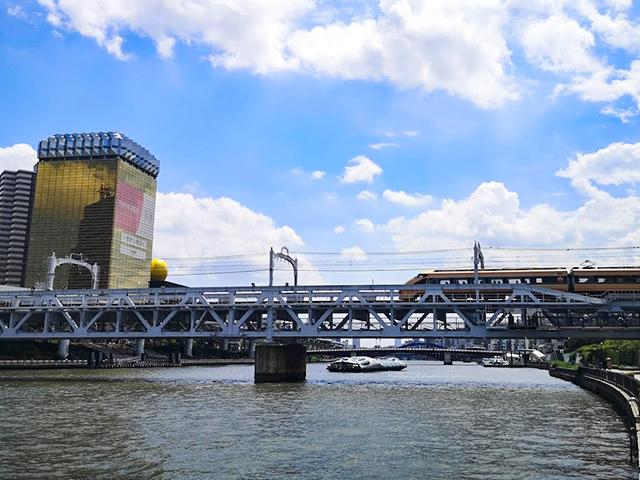 :何時間かかる?隅田川12橋+2橋を、真夏一人で歩いてみました