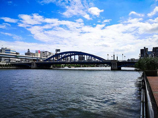 駒形橋:何時間かかる?隅田川12橋+2橋を、真夏一人で歩いてみました