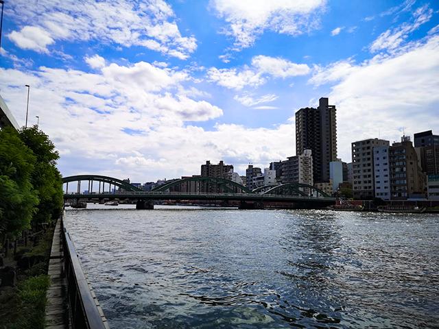 厩橋:何時間かかる?隅田川12橋+2橋を、真夏一人で歩いてみました
