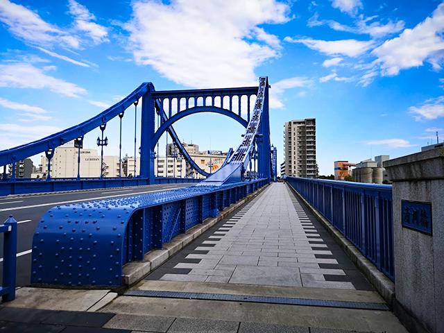 清洲橋(きよすばし):何時間かかる?隅田川12橋+2橋を、真夏一人で歩いてみました