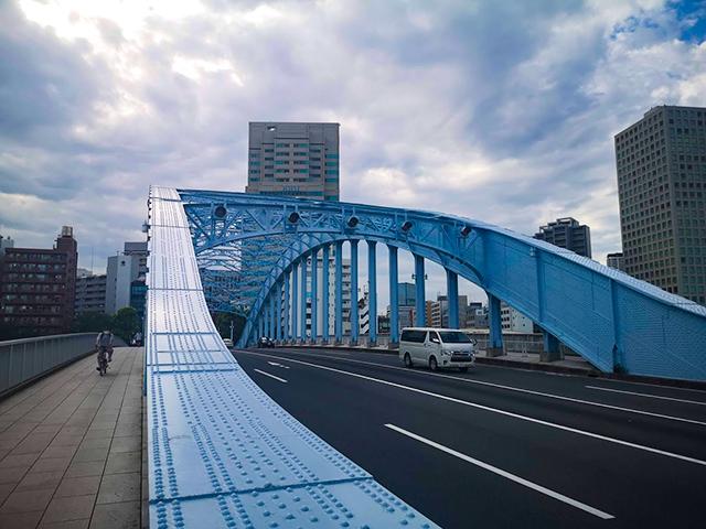 永代橋(えいだいばし):何時間かかる?隅田川12橋+2橋を、真夏一人で歩いてみました