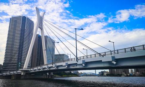 中央大橋(ちゅうおうおおはし):何時間かかる?隅田川12橋+2橋を、真夏一人で歩いてみました