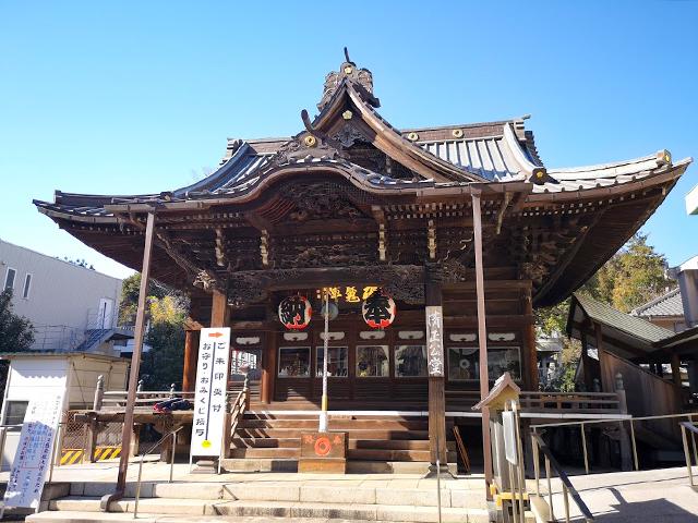覚林寺(清正公):毘沙門天
