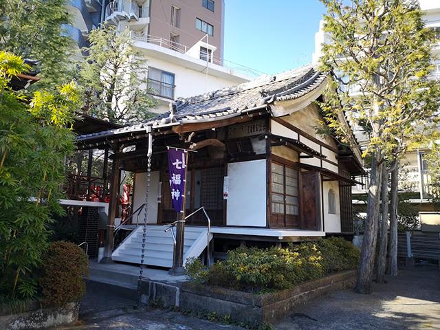 妙円寺(白金妙見):福禄寿尊・寿老人尊