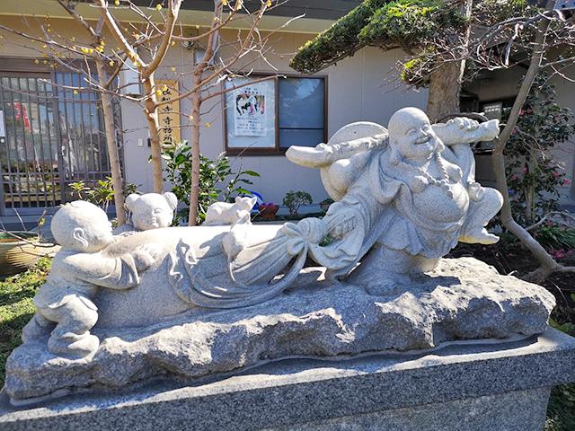 良観寺の布袋尊:柴又七福神めぐり
