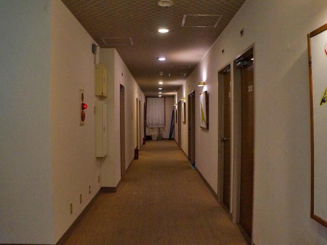廊下/銚子かもめホテル